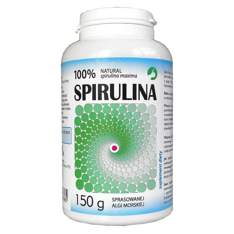 spirulina w tabletkach 150g aura herbals hurtownia On spirulina w tabletkach